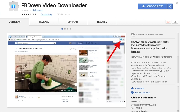fbdown video downloader