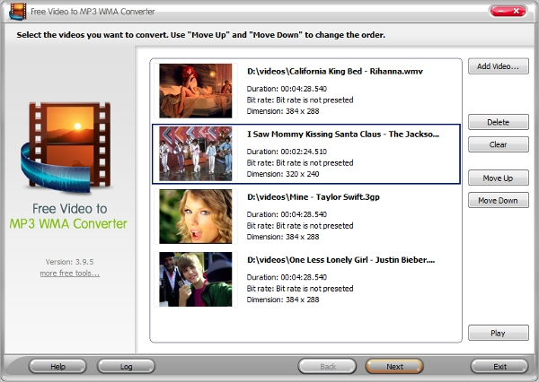 free video to mp3 converter1