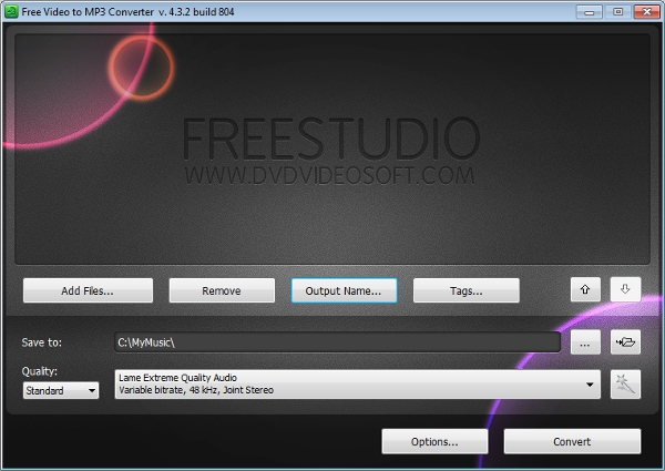 free video to mp3 converter2