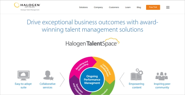 halogen talent space