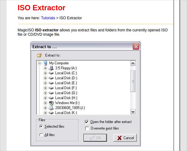 iso extractor