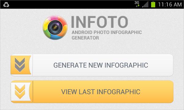 infoto infographic generator