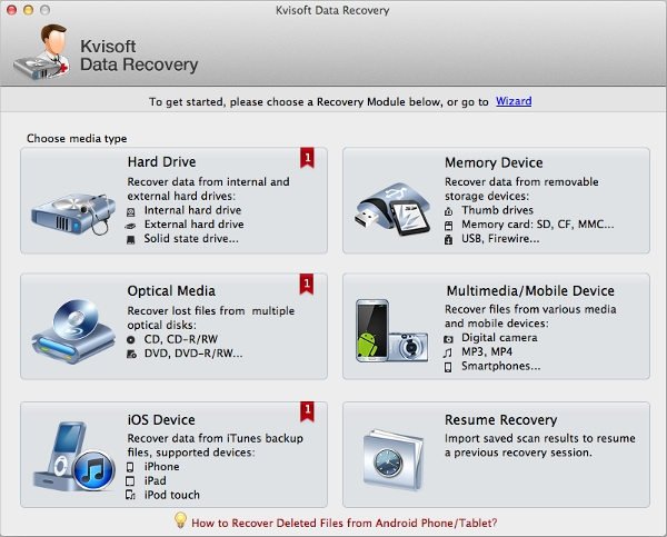 kvisoft data recovery