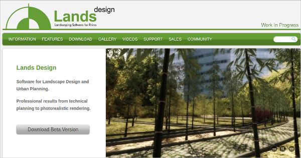 lands design beta