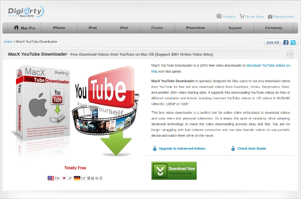 macx youtube downloader