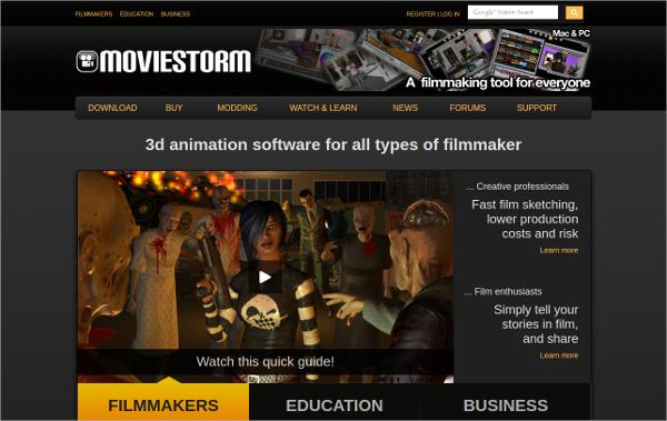 moviestorm filmmaker