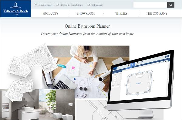 online bathroom planner