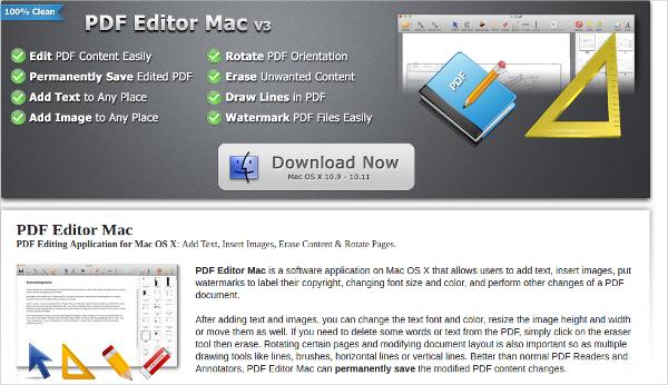pdf editor mac