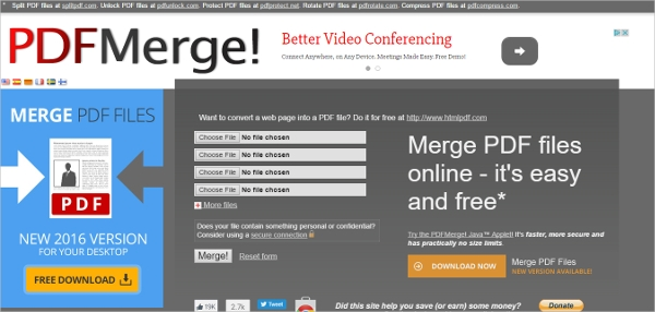 6+ Best Pdf Merger Software Free Download for Windows, Mac, Android | DownloadCloud