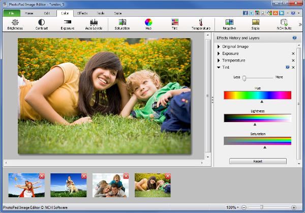 photopad photo editing software