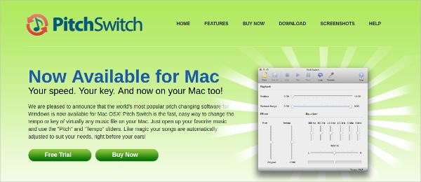 pitch switch
