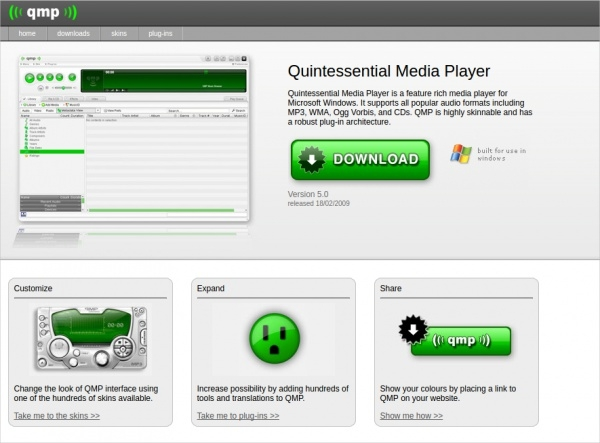 quintessential media player