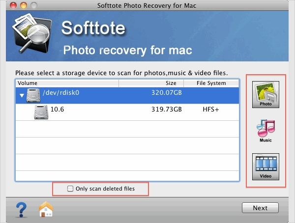 softtote photo recovery
