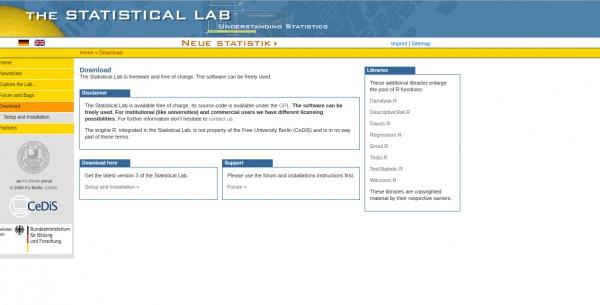 statistical lab