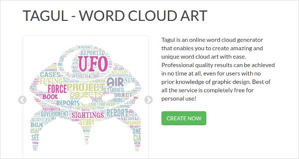tagul word cloud art