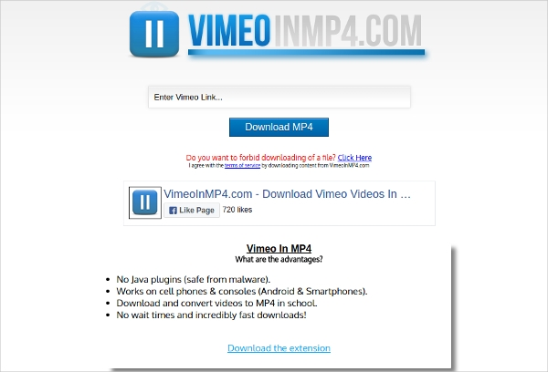 vimeo in mp4