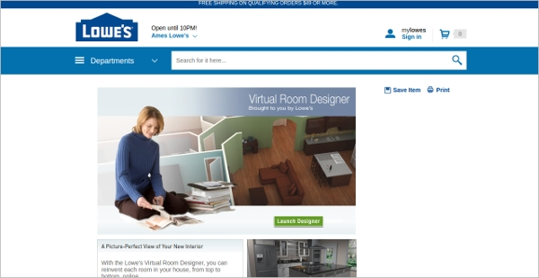 virtual room designer
