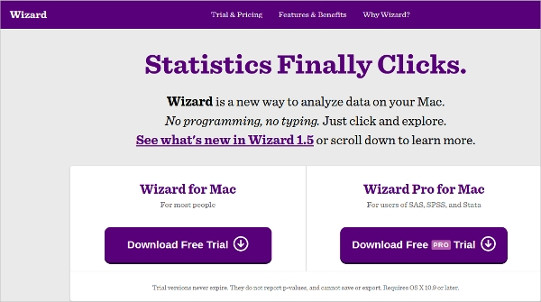 wizard statistics
