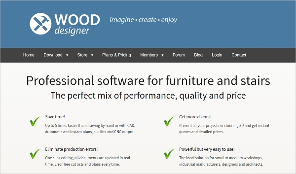 12 best furniture design software free download for for Furniture building software