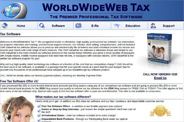 worldwide web tax