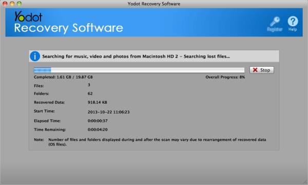 yodot mac photo recovery
