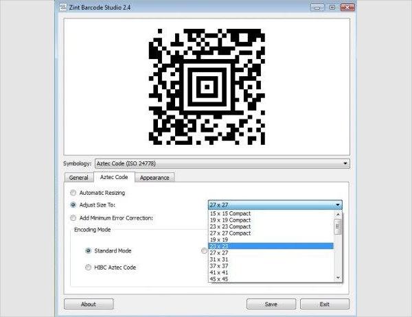 zint barcode generator1