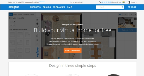 dmlights 3d homeplanner