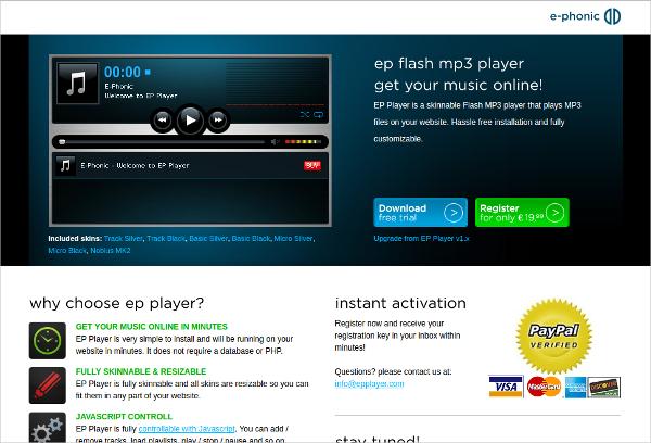 ep flash mp3 player