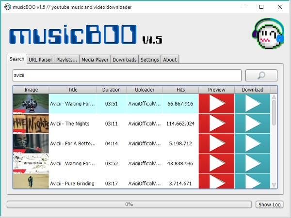 music boo downloader