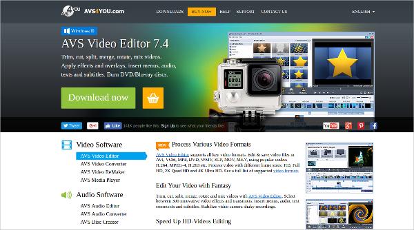 avs video editor 7.4 free download full version