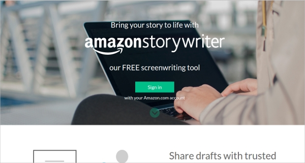 amazon story writer