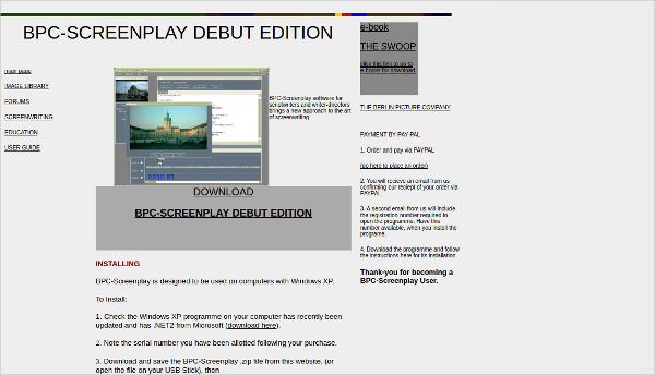 bpc screenplay