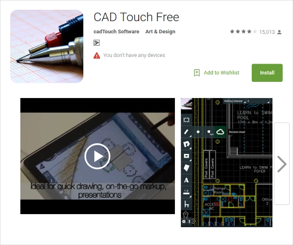 cad touch free