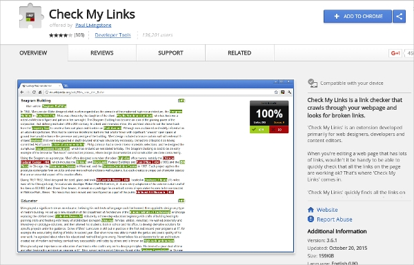 check my links1