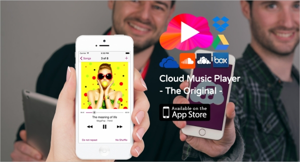 cloud music player