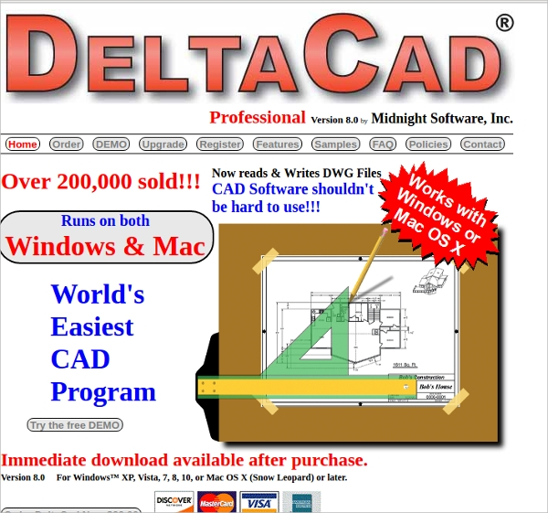 delta cad
