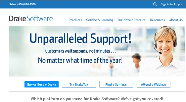 draketax software