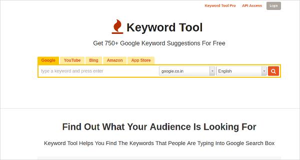 keyword tool1