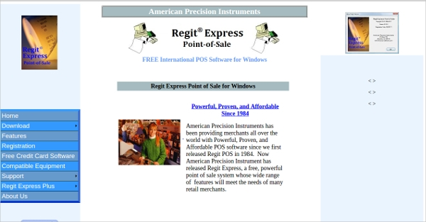 regit express point of sale