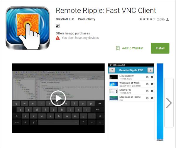 remote ripple