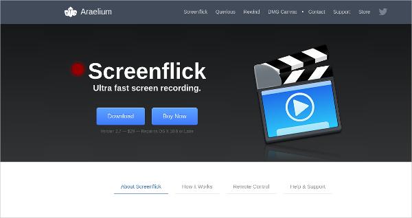 screen flick