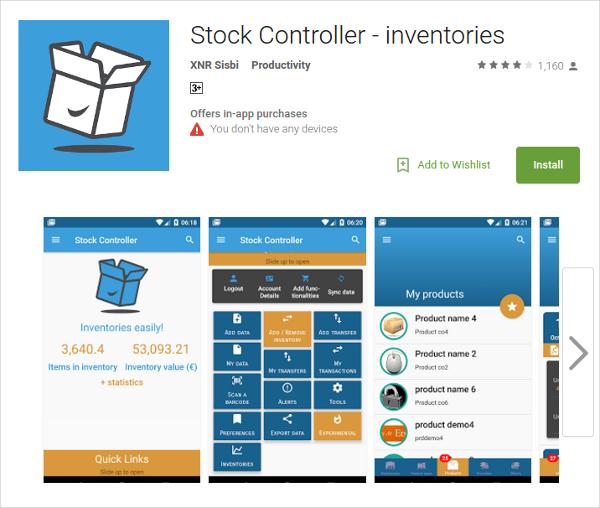stock controller