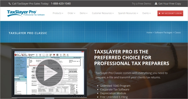 taxslayer pro classic