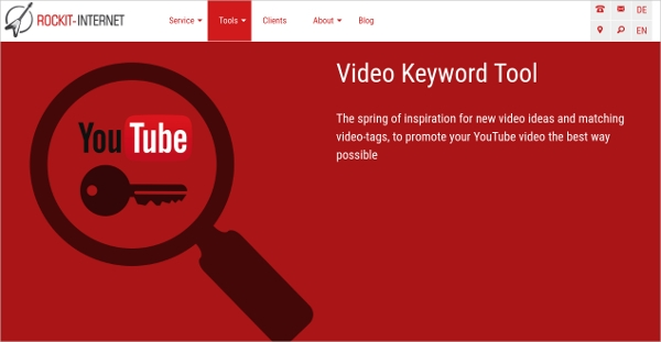 video keyword tool