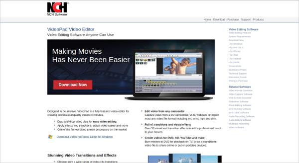 videopad video editor3