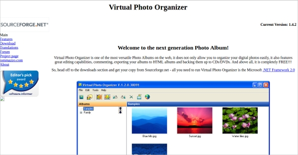 virtual photo organizer