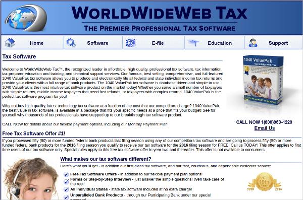 webtaxsoftware