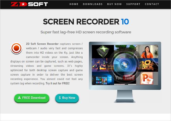 zdsoft screen recorder