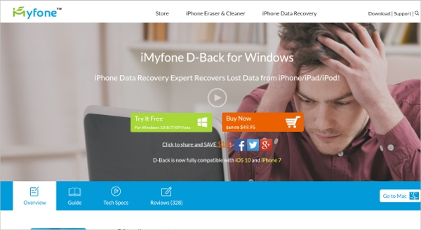 imyfone d back for windows
