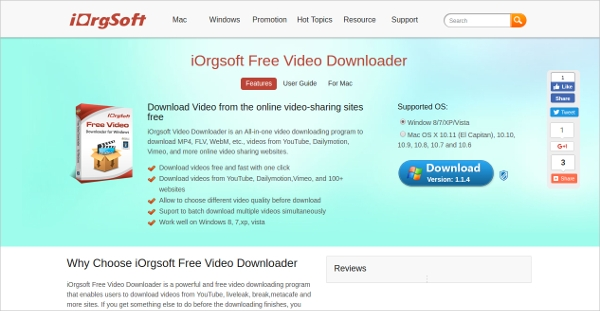 iorgsoft video downloader